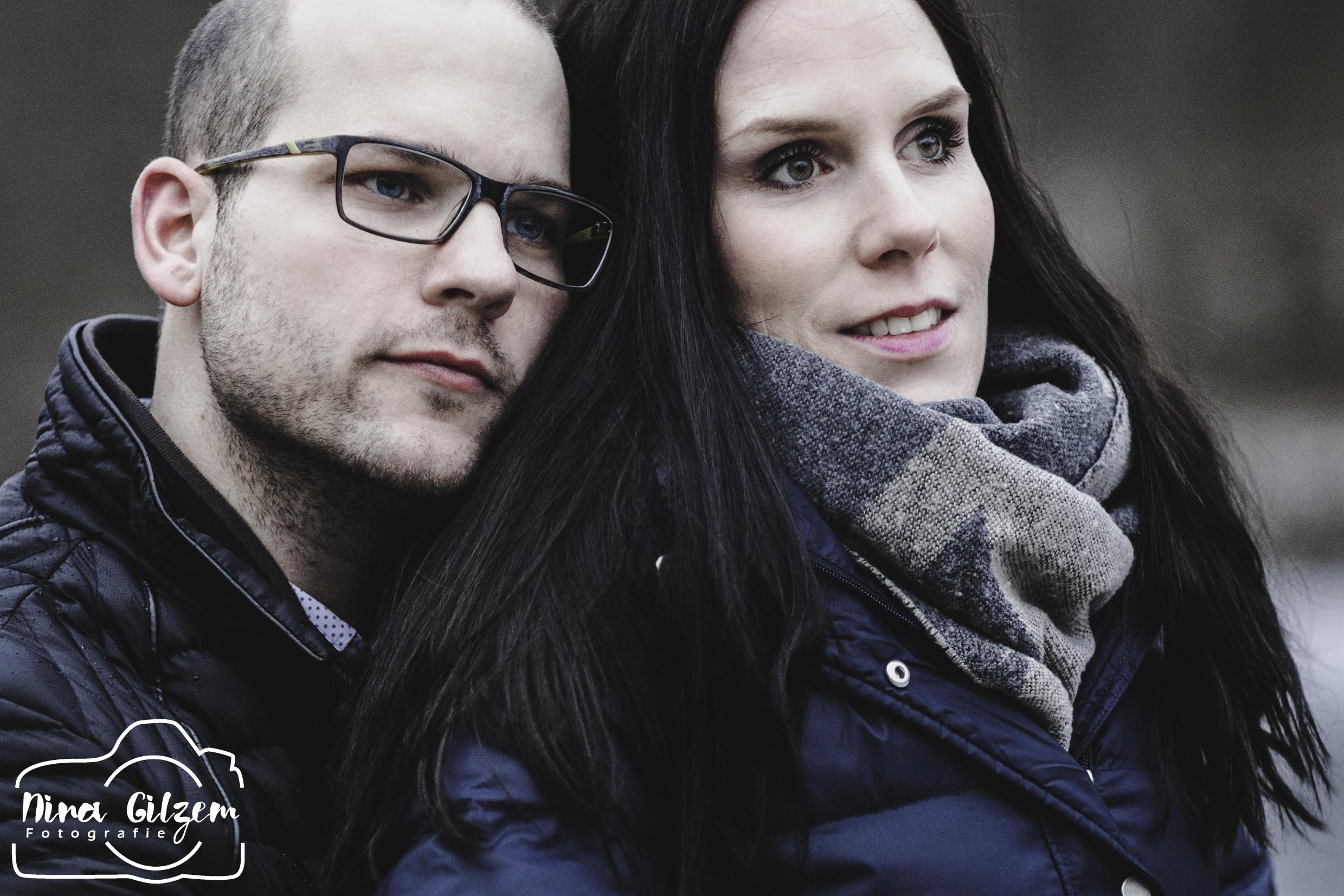 Nina Gilzem Fotografie Stuttgart Wintershooting mit Kerstin und Stefan